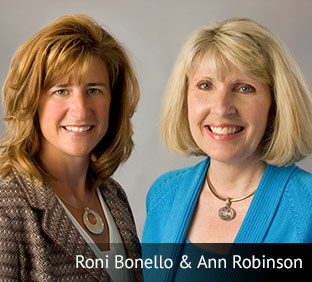 Roni Bonello and Ann Robinson